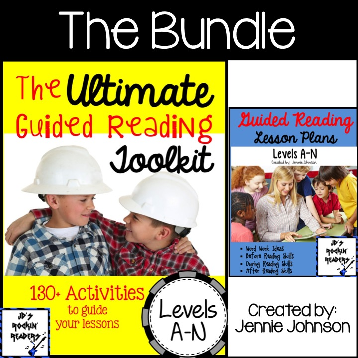 The Ultimate Guided Reading Toolkit: Levels A-N