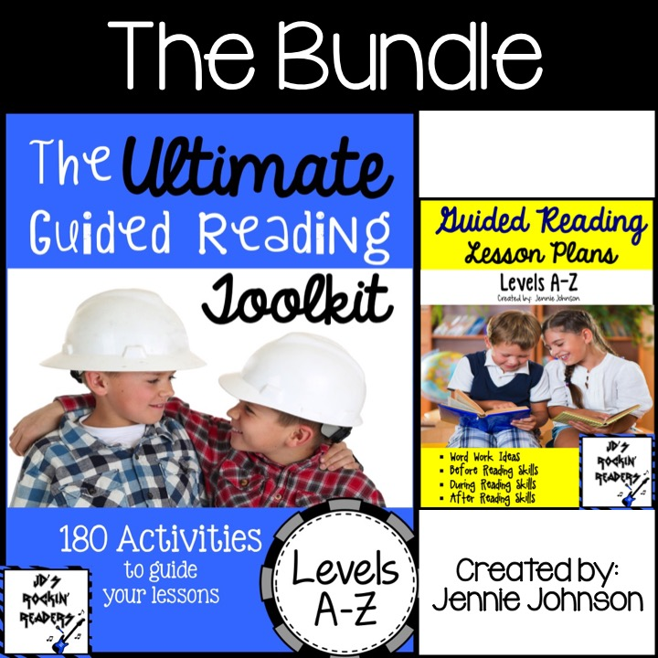 The Ultimate Guided Reading Bundle: Levels A-Z
