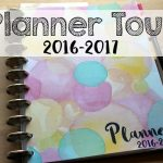 Take a Video Tour of My 2016-2017 Planner!