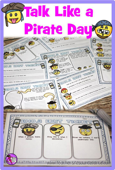 So, it's almost International Talk Like a Pirate Day, aye! September 19th is a day where we should all be talking like pirates apparently, savvy?