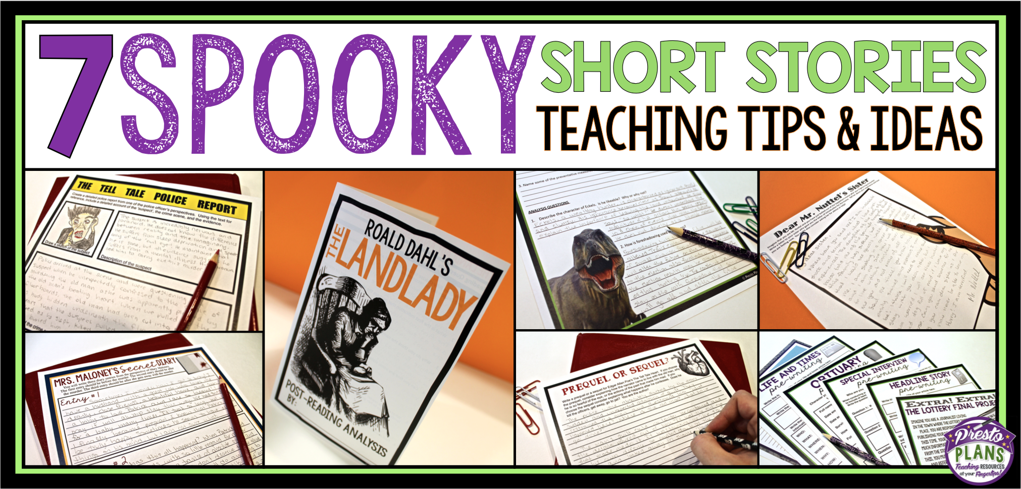Halloween Schort.7 Spooky Short Stories To Teach Around Halloween The Tpt Blog