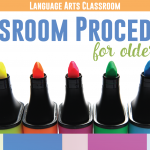 Meaningful Classroom Procedures for Older Students