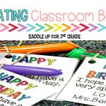 Oh, What Fun! Great Ways to Celebrate Classroom Birthdays