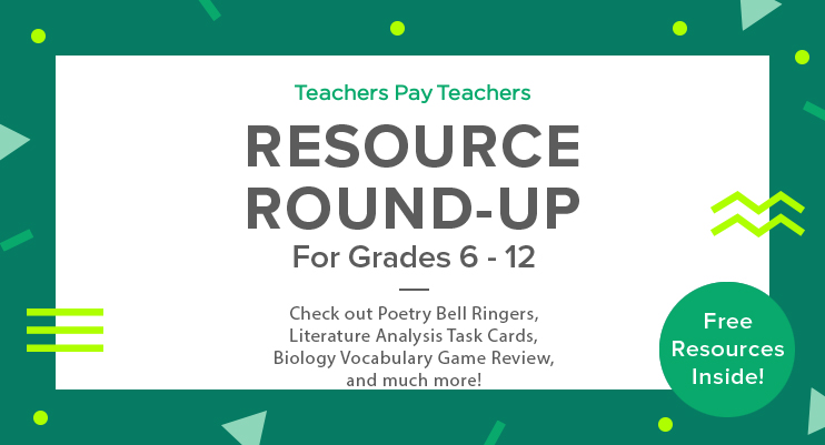 Resource Round-Up: Poetry Bell Ringers, Literature Analysis Task ...