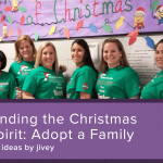 Finding the Christmas Spirit: Adopt a Family {#TeachersWhoGive}
