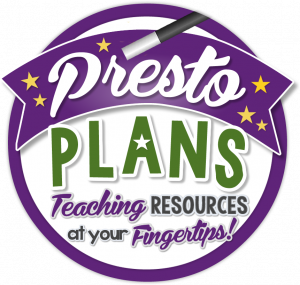Presto Plans logo: Teaching Resources at your fingertips