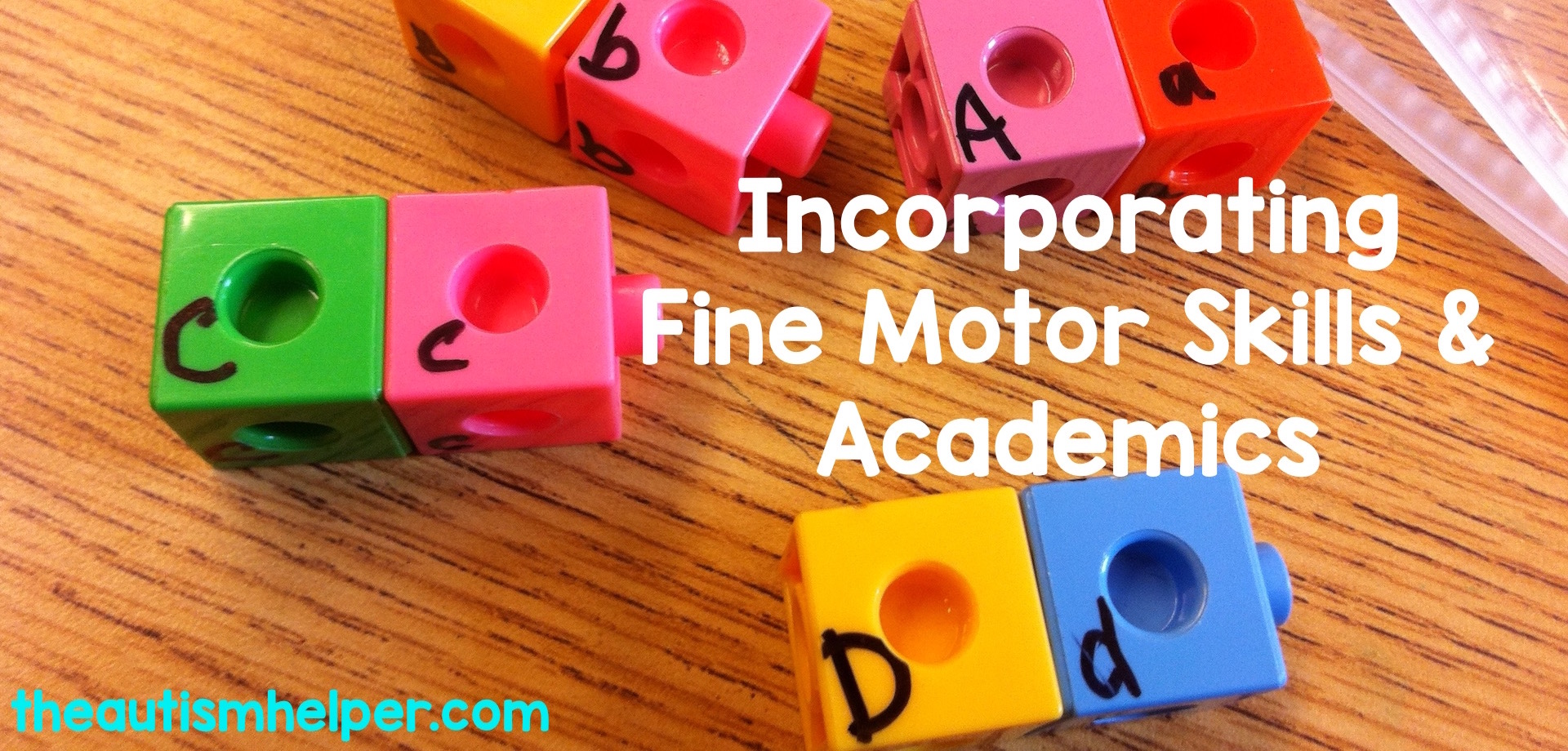 Incorporate fine motor skills into academic learning for your special education students — because who has enough time to focus on just one skill at a time?
