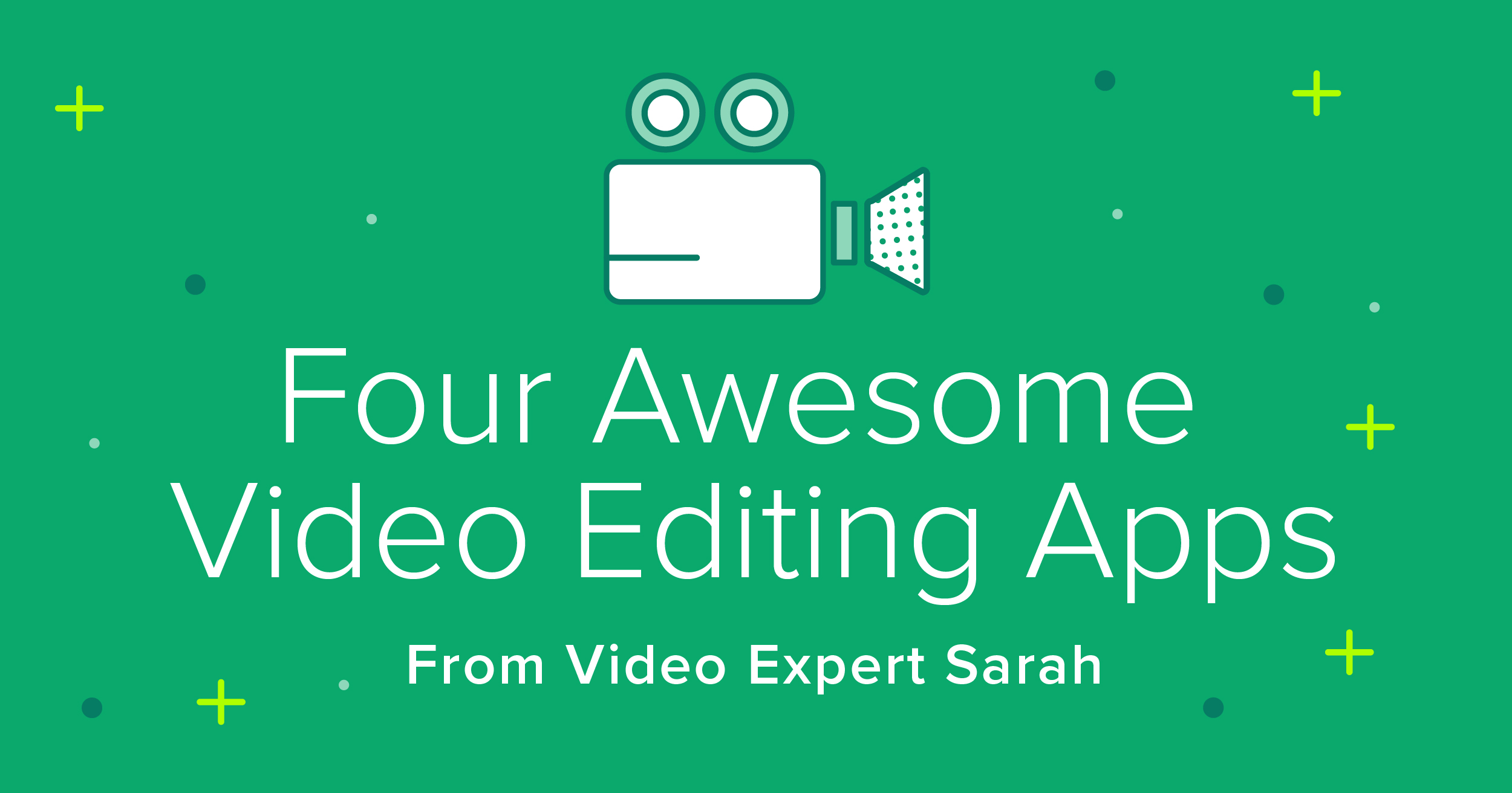 What's better than an easy-to-use editing app for your iPad? A free one, of course! If you're in the market, check out these awesome video editing apps.