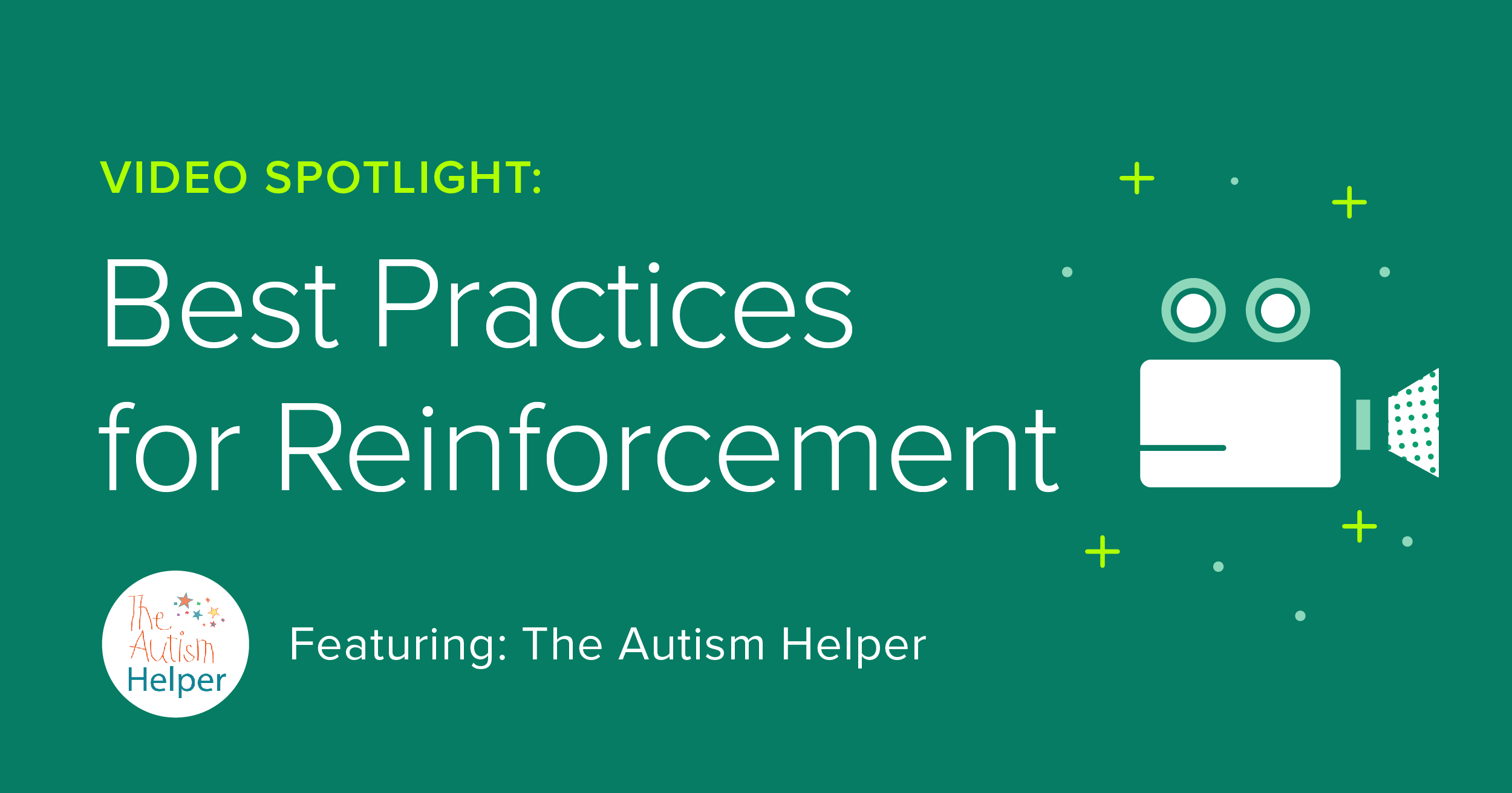 """""""Video is something that lets me share my ideas with my readers in a way that is efficient and effective"""" says The Autism Helper."""