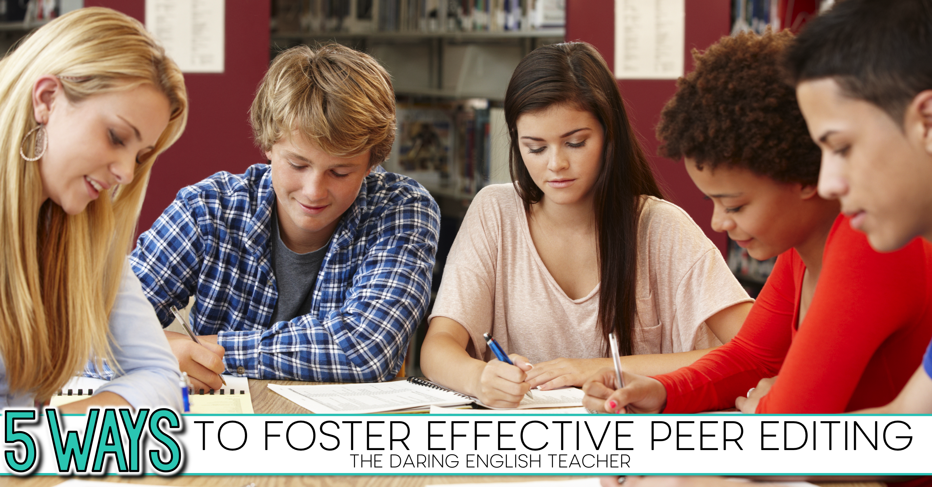 When it comes to peer editing, students need direction and focus. This post will give you five ways to make peer editing successful in your class.