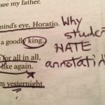 Annotation: Why Students Hate It (And How to Fix It)