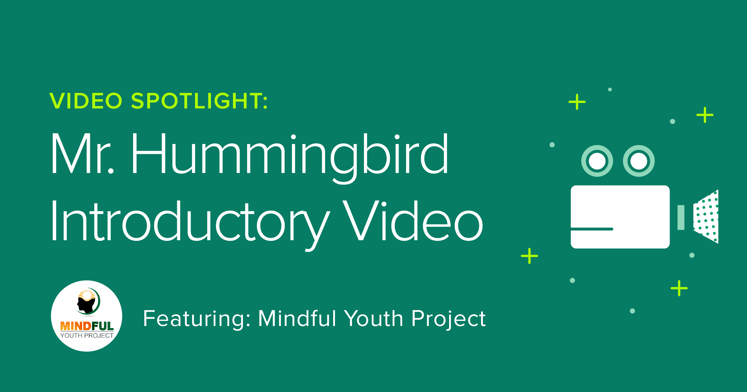 """Engaging visuals and a catchy song guide children through a focused listening practice,"" says Mindful Youth Project."