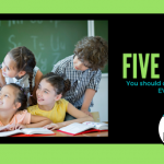 The Five Things You Should Do in Your Classroom EVERY DAY!