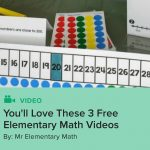 You'll Love These 3 Free Elementary Math Videos