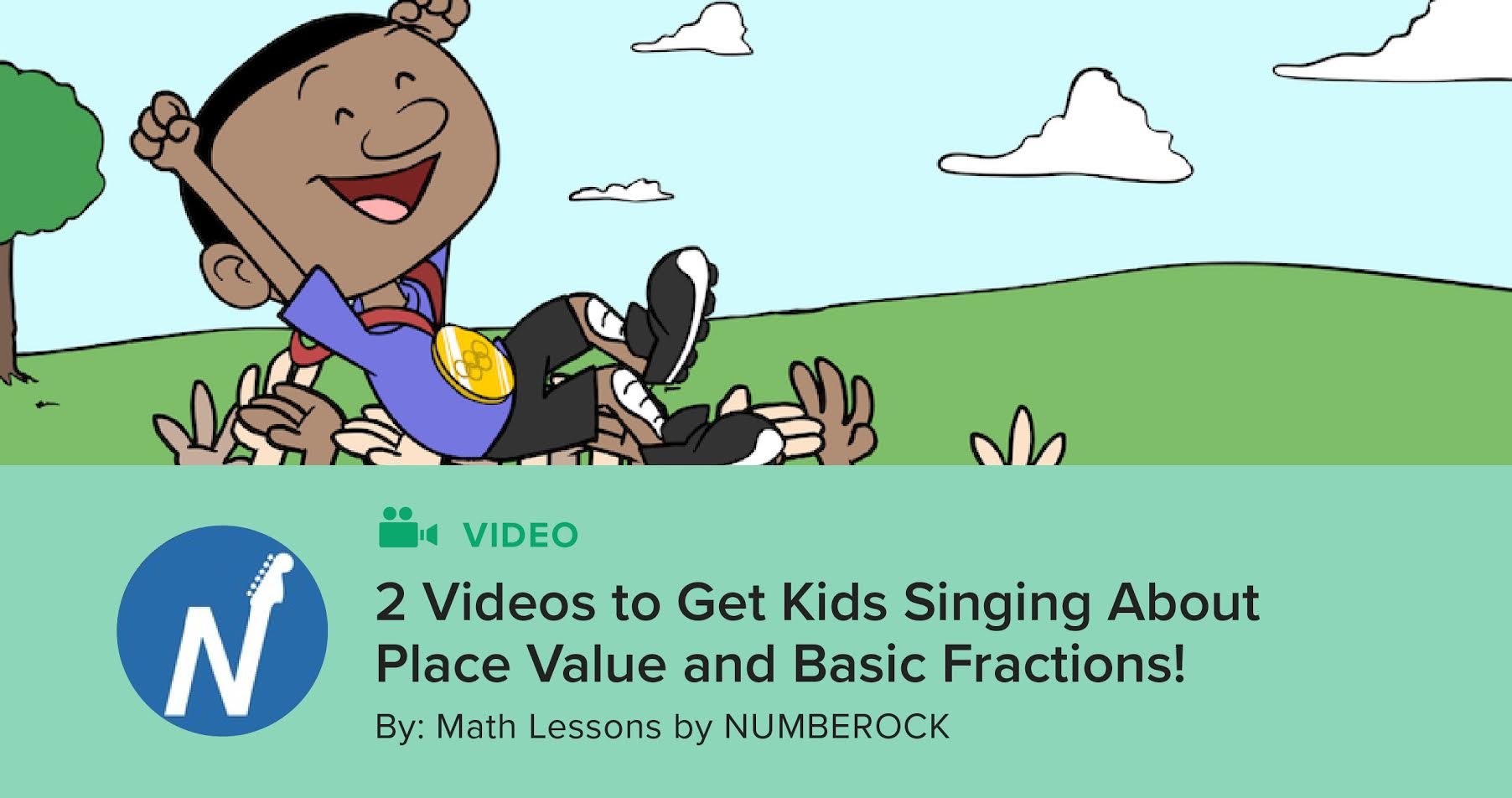 2 Videos to Get Kids Singing About Place Value and Basic Fractions ...