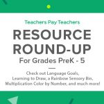Resource Round-Up: Language Goals, Learning to Draw, a Rainbow Sensory Bin, and More!