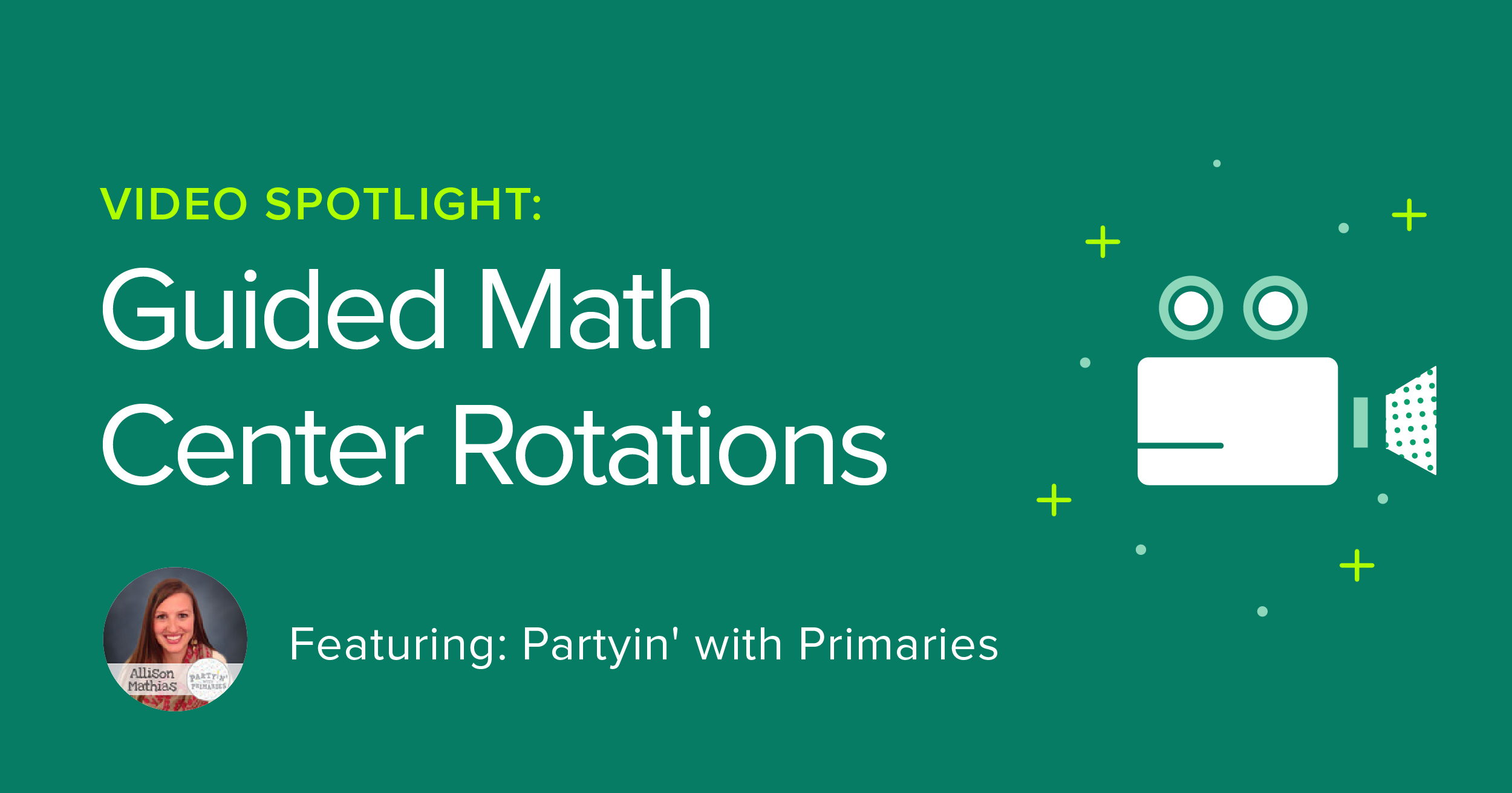 Take the plunge into teaching Guided Math in your classroom with four different centers to implement.