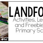Teaching Landforms: Experiments, Resources, and a FREEBIE!