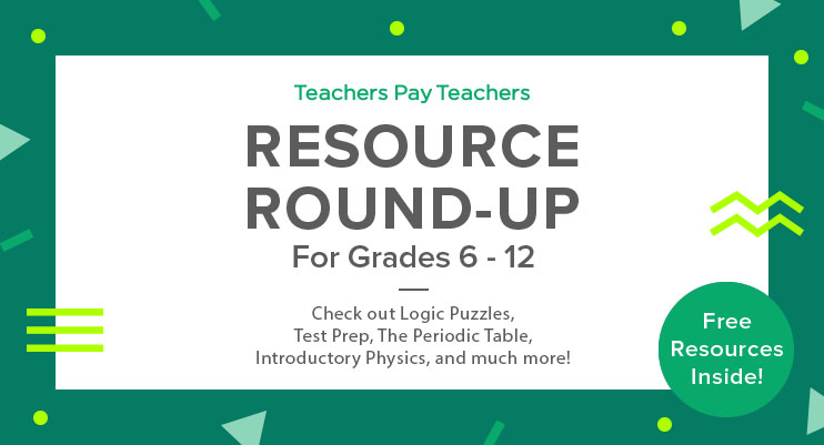 Resource round up logic puzzles test prep the periodic table this weeks resource round up is brought to you by science get acquainted with an introduction to physics powerpoint a periodic table scavenger hunt urtaz Choice Image