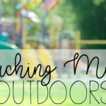 10 Ways to Teach Math Outdoors