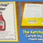 Ketchup Folder: An Easy Way to Manage Missed Assignments