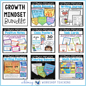 Growth Mindset Classroom Bundle