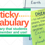 Sticky Vocabulary: Teach, Remember, and Use Words Daily