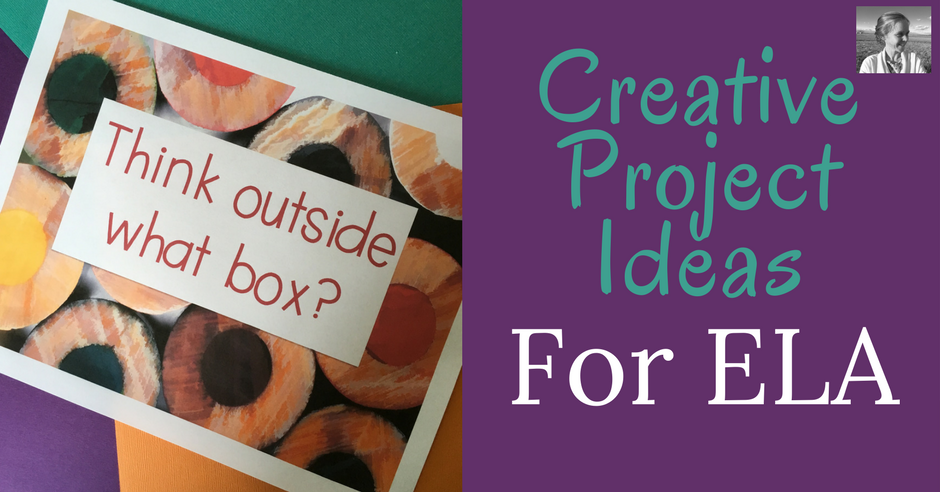 try these creative project ideas for ela the tpt blog