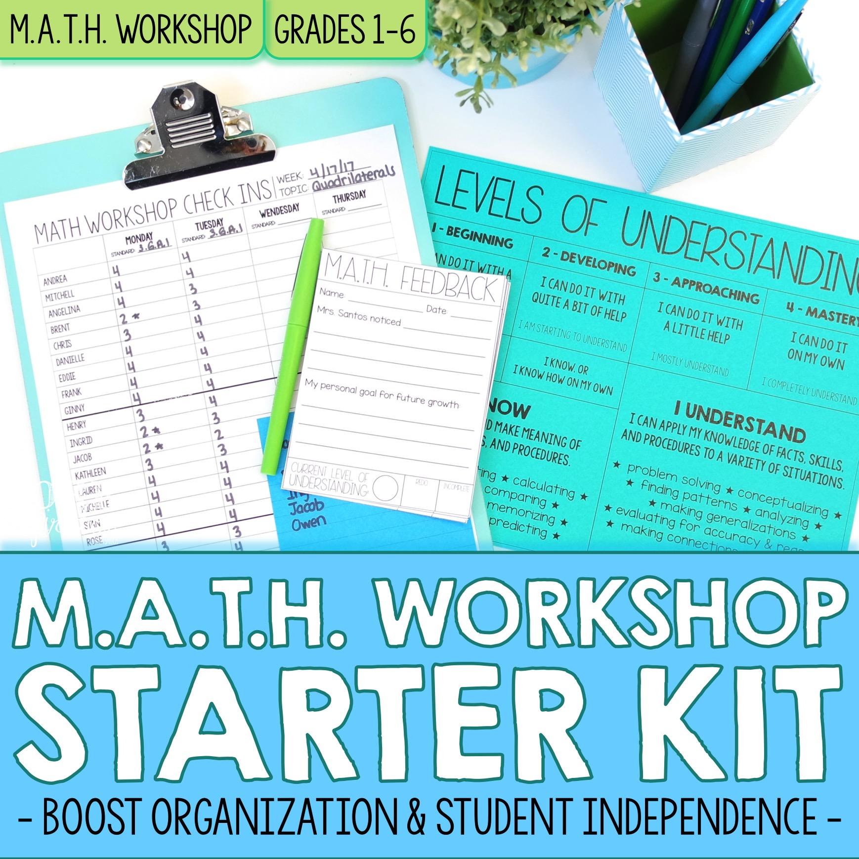Math Workshop Starter Kit Cover