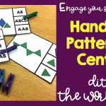 Engage Your Students With Hands-On Patterning Centers and Ditch the Worksheets!