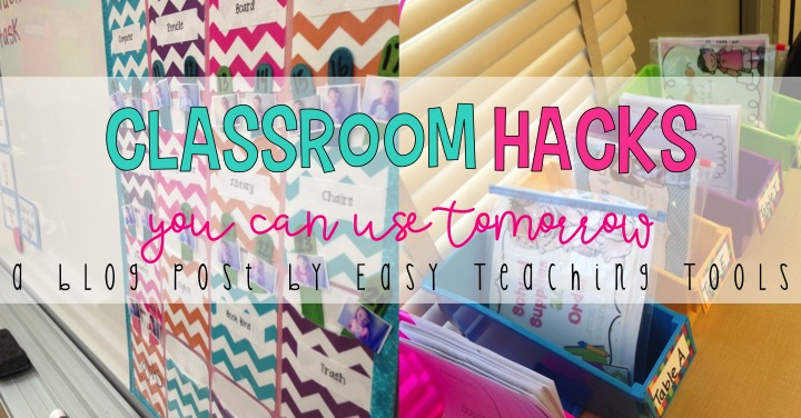 Classroom Hacks You Can Use Tomorrow