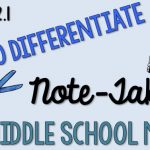 How to Differentiate Note-Taking in Middle School Math