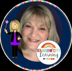 Retta London of Rainbow City Learning: Teacher-Author on TpT