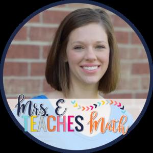 Mrs E Teaches Math: Teacher-Author on TpT
