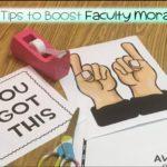 12 Foolproof Teacher Morale Boosters