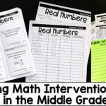 6 Tips for Making Math Intervention Work in Middle Grades