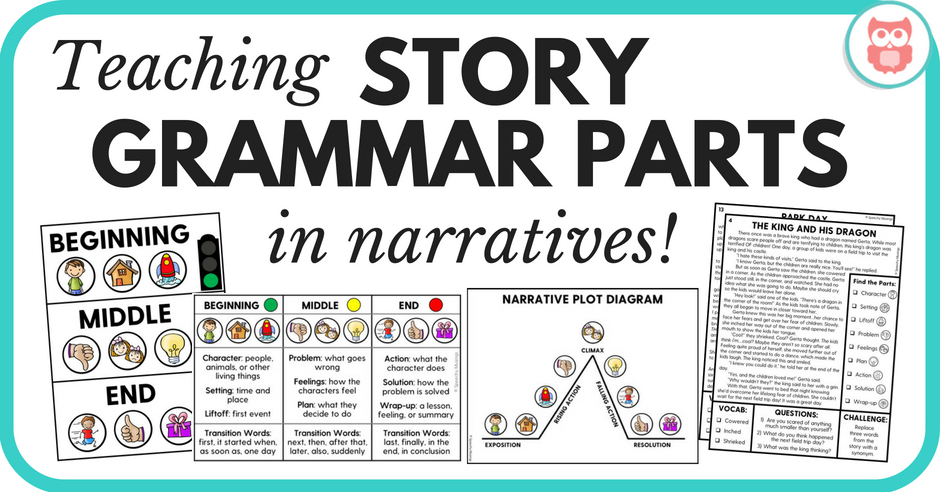 Tips for teaching story grammar parts in narratives the tpt blog tips for teaching story grammar parts in narratives ccuart Choice Image