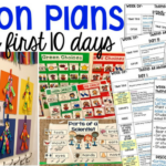 Lesson Plans for the First 10 Days of School