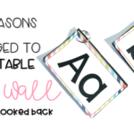 4 Reasons I Changed to a Portable Word Wall and Never Looked Back