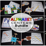 Fun Alphabet Center Activities!
