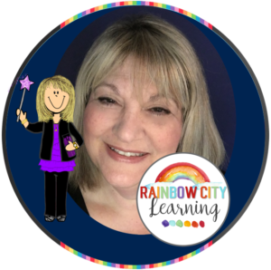 Retta London of Rainbow City Learning: Teacher-Author on TpT