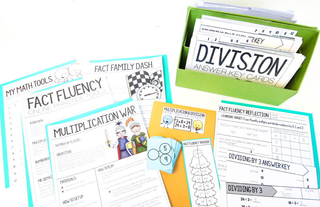 When building fact fluency in her third grade classroom, Laura Santos uses some consistent routines and give students plenty of time to master their facts.