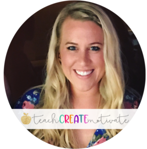 Teach Create Motivate is a Teacher-Author on TpT