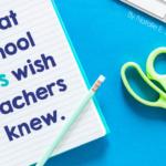 What School SLPs Wish Teachers Knew