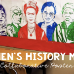 A Unique Women's History Month Activity: Famous Faces® Collaboration Poster