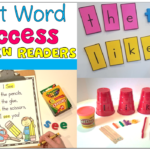 Sight Word Success for New Readers