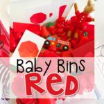 Baby Bins: Red Theme