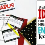 Back-to-School Ideas for Middle & High School English Teachers