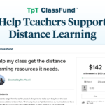 Help Teachers Support Distance Learning with TpT ClassFund™