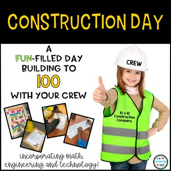 Your crew will love celebrating 100 days of school by building their way to 100 with these engaging math, engineering, and technology 'job sites' (centers).